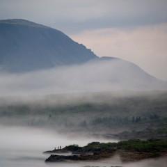 Við Þingvallavatn