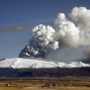 Eyjafjallajökull 2010.