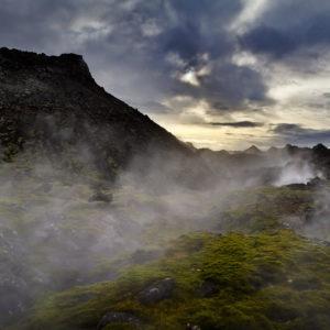 Eldvörp á Reykjanesi