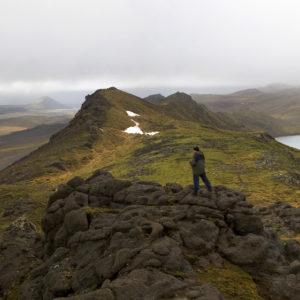 Á Núpshlíðarhálsi