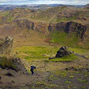 Trölladyngju- og Krýsuvíkursvæðið hefur upp á að bjóða frábærar gönguleiðir í stórbrotnu landslagi.