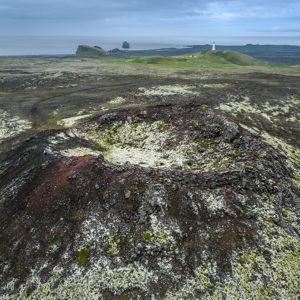 Gígur Skálafells á Reykjanesi.