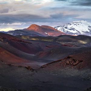 Valahjá, Hekla í baksýn