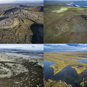 Gosdyngjurnar á Reykjanesskaga: Eru risarnir að vakna?