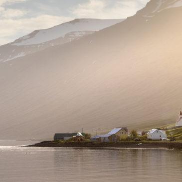 Magnþrungin fossasinfónía í Mjóafirði
